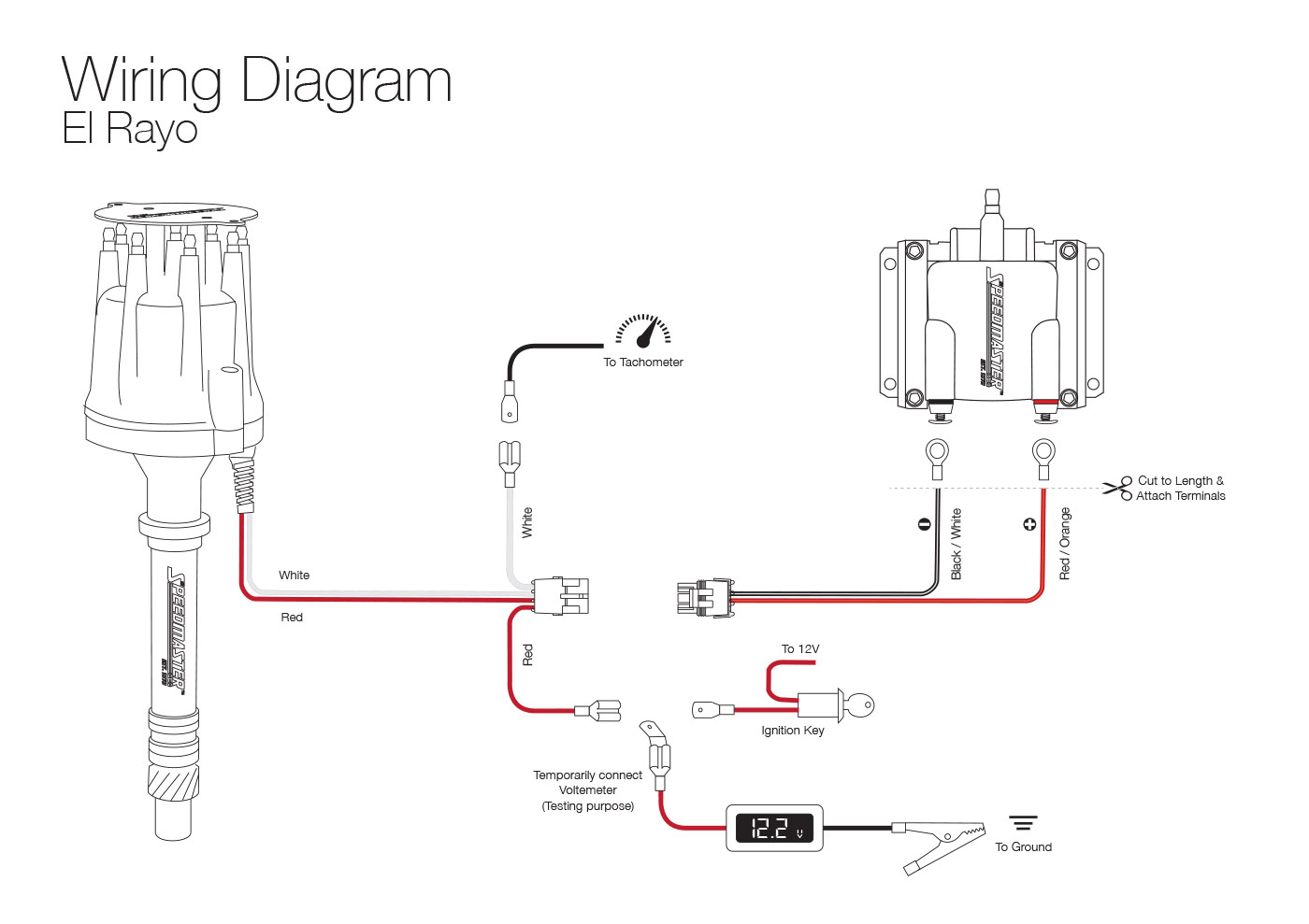 Pro P Distributor Wiring Diagram Electronic | Manual E-Books - Distributor Wiring Diagram