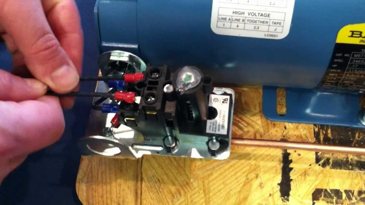 Proper Installation Wiring Procedure: Wiring To The Air Compressor's - Air Compressor Wiring Diagram