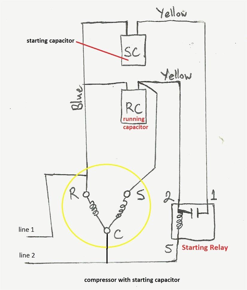 Ptc Wiring Diagram | Wiring Diagram - Run Capacitor Wiring Diagram