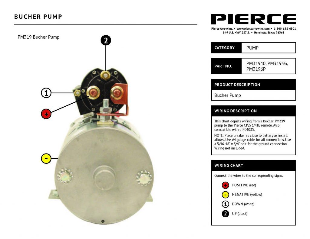 Pump Wiring Diagrams