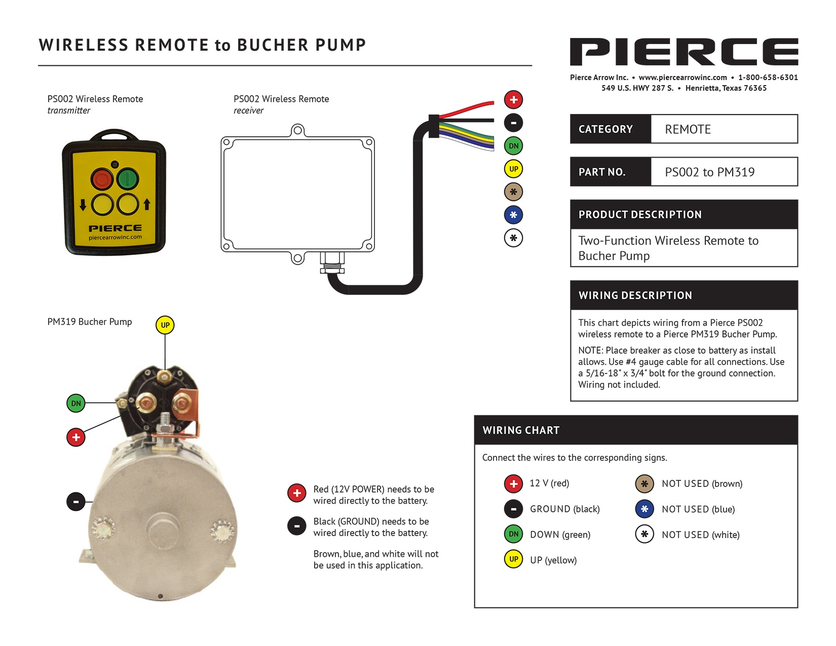 Pump Wiring Diagrams - 12 Volt Hydraulic Pump Wiring Diagram