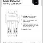 Push Button Wire Diagram | Wiring Diagram   Push Button Start Wiring Diagram