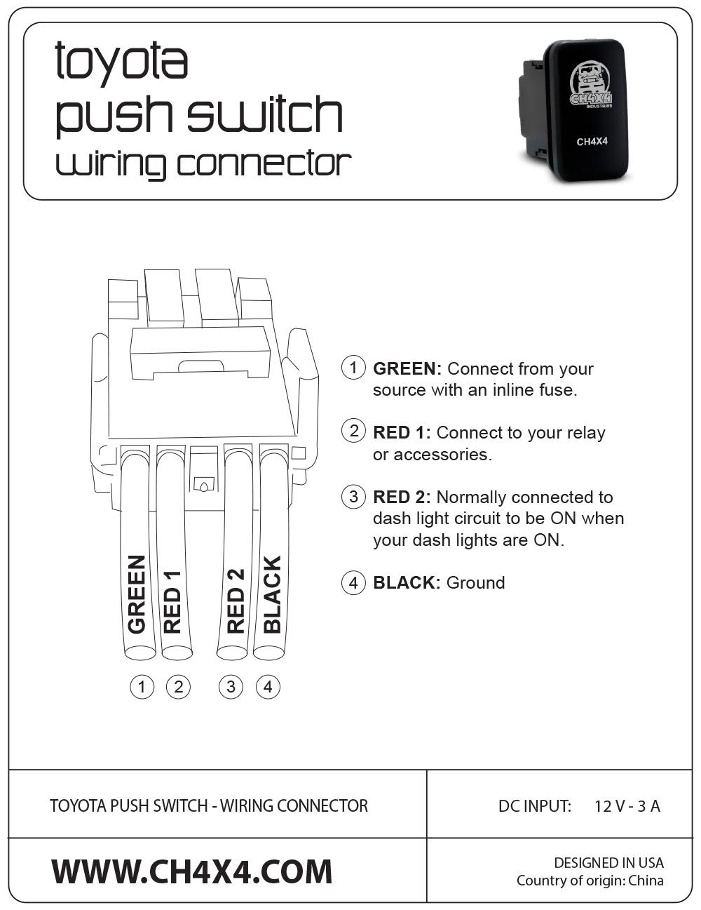 Push Button Wire Diagram | Wiring Diagram - Push Button Start Wiring Diagram