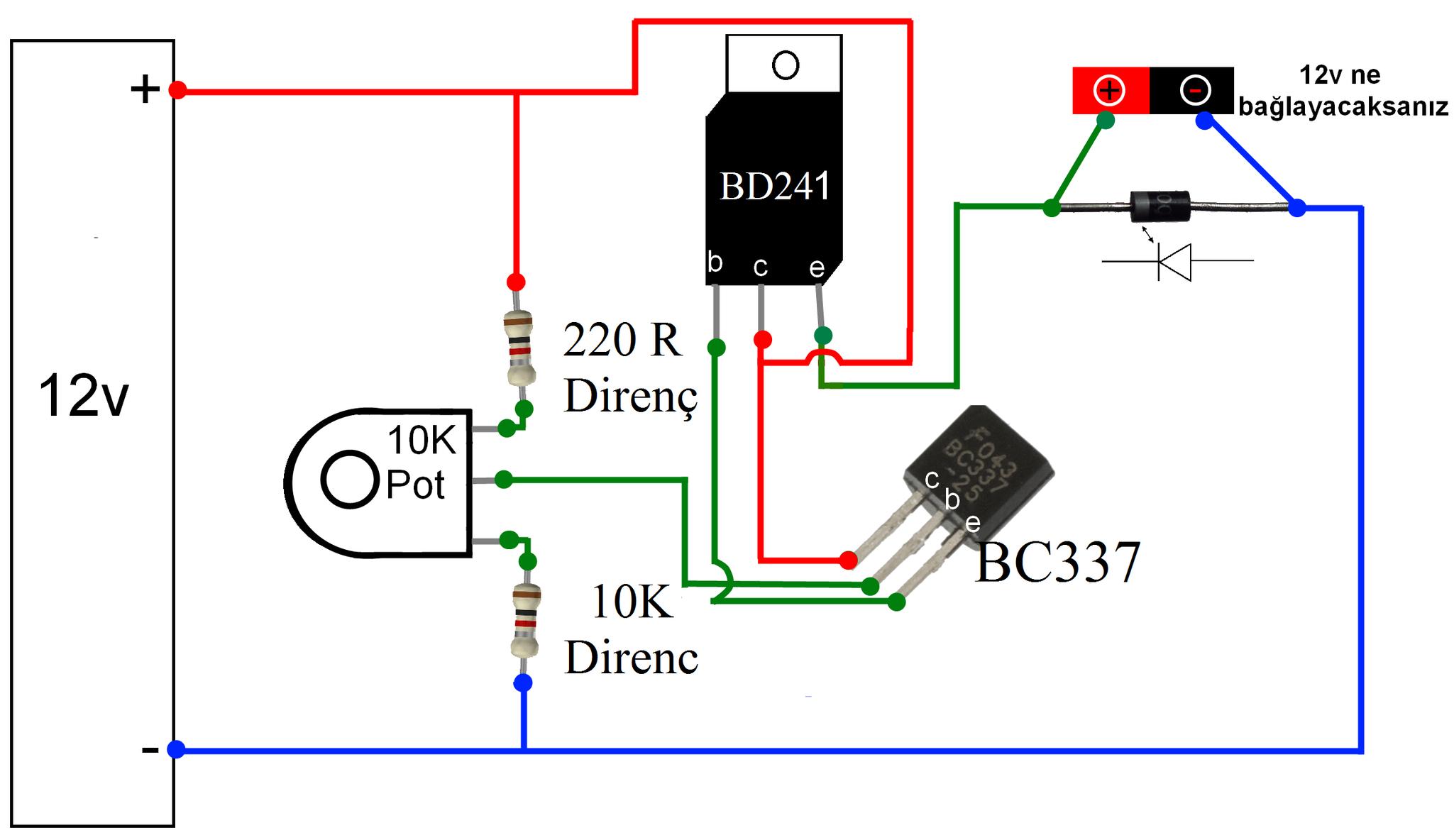 Radio Shack Potentiometer Wiring | Wiring Diagram - Potentiometer Wiring Diagram
