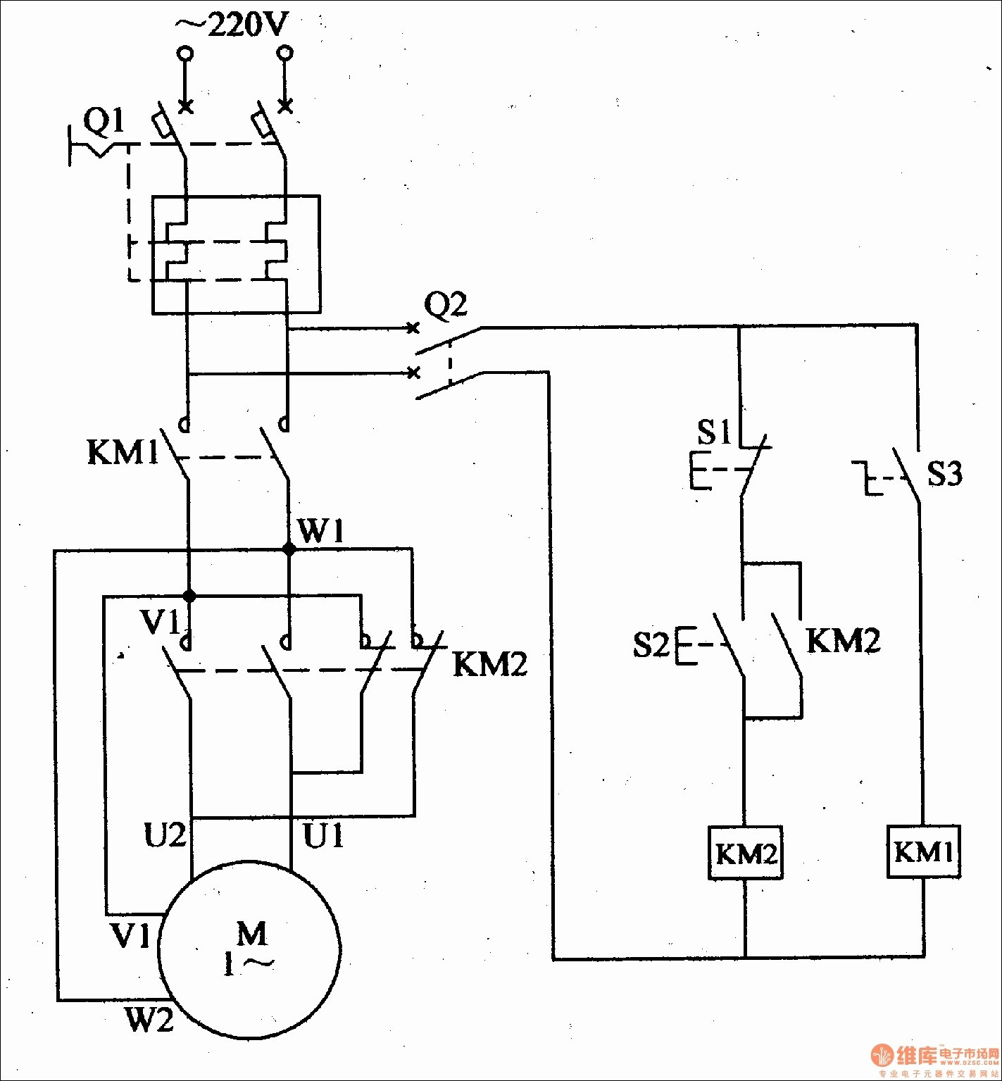 Railex Wiring Diagrams Single Phase Motor Forward And Reverse - Reversing Single Phase Motor Wiring Diagram