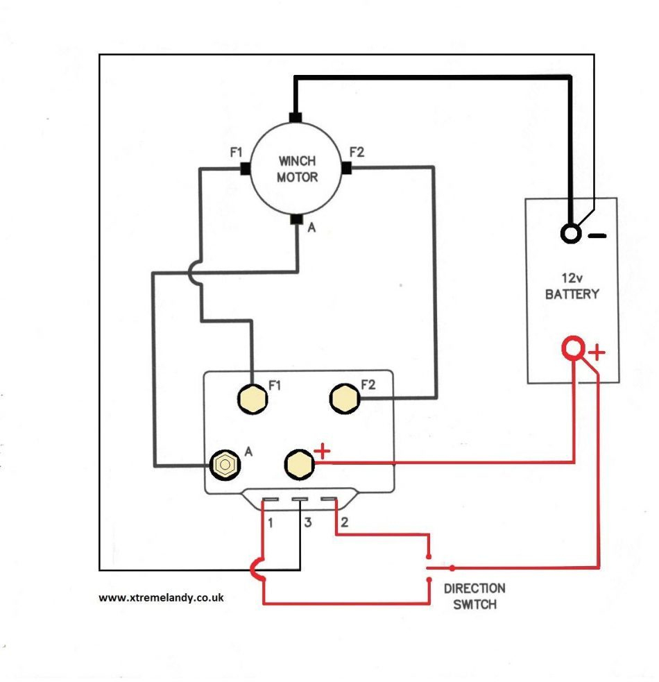Ramsey Re 12000 Wiring Diagram | Wiring Diagram - Ramsey Winch Wiring Diagram