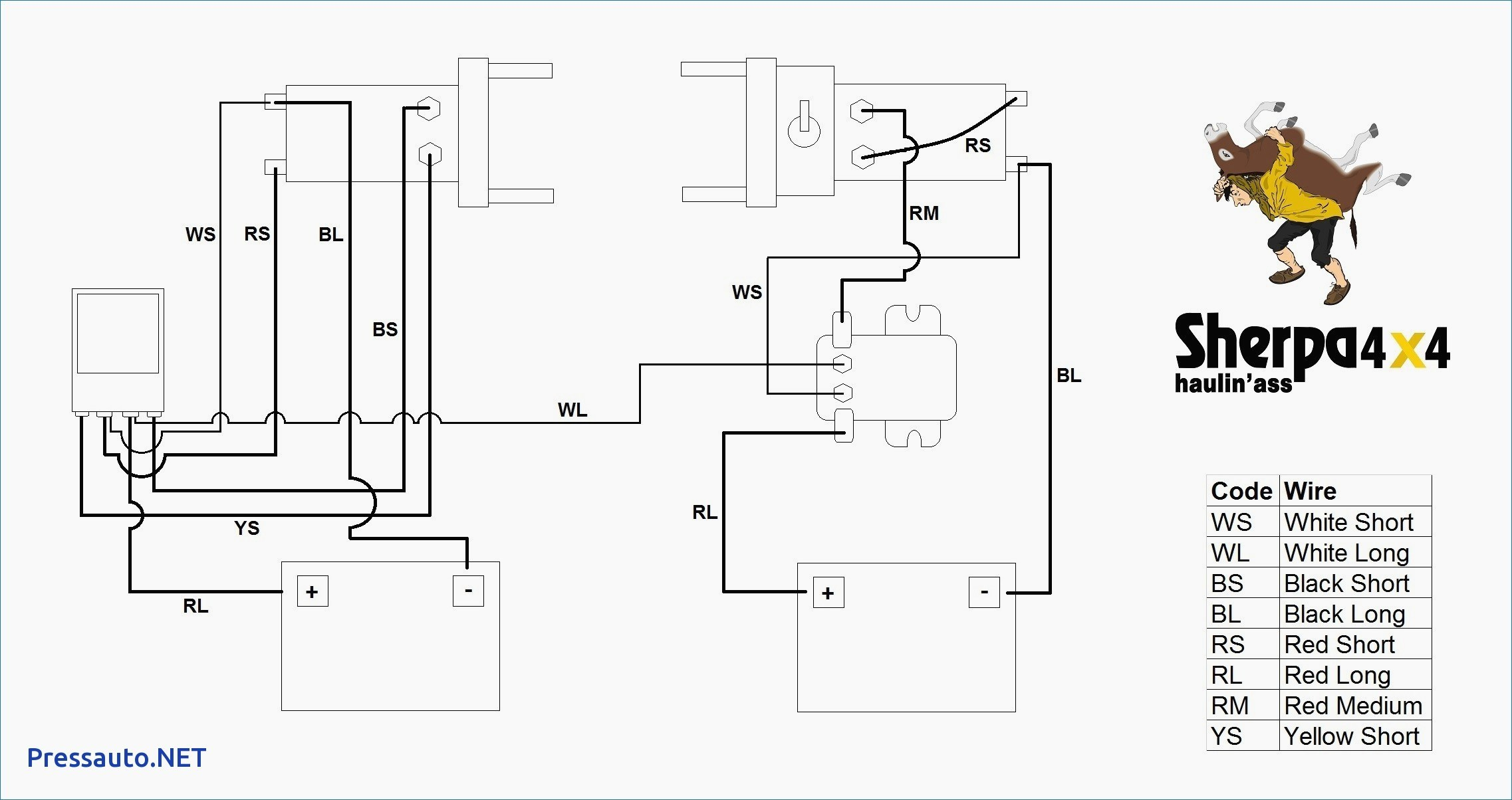 Ramsey Winch Solenoid Wiring Diagram New 12V | Wiring Diagram - Ramsey Winch Wiring Diagram