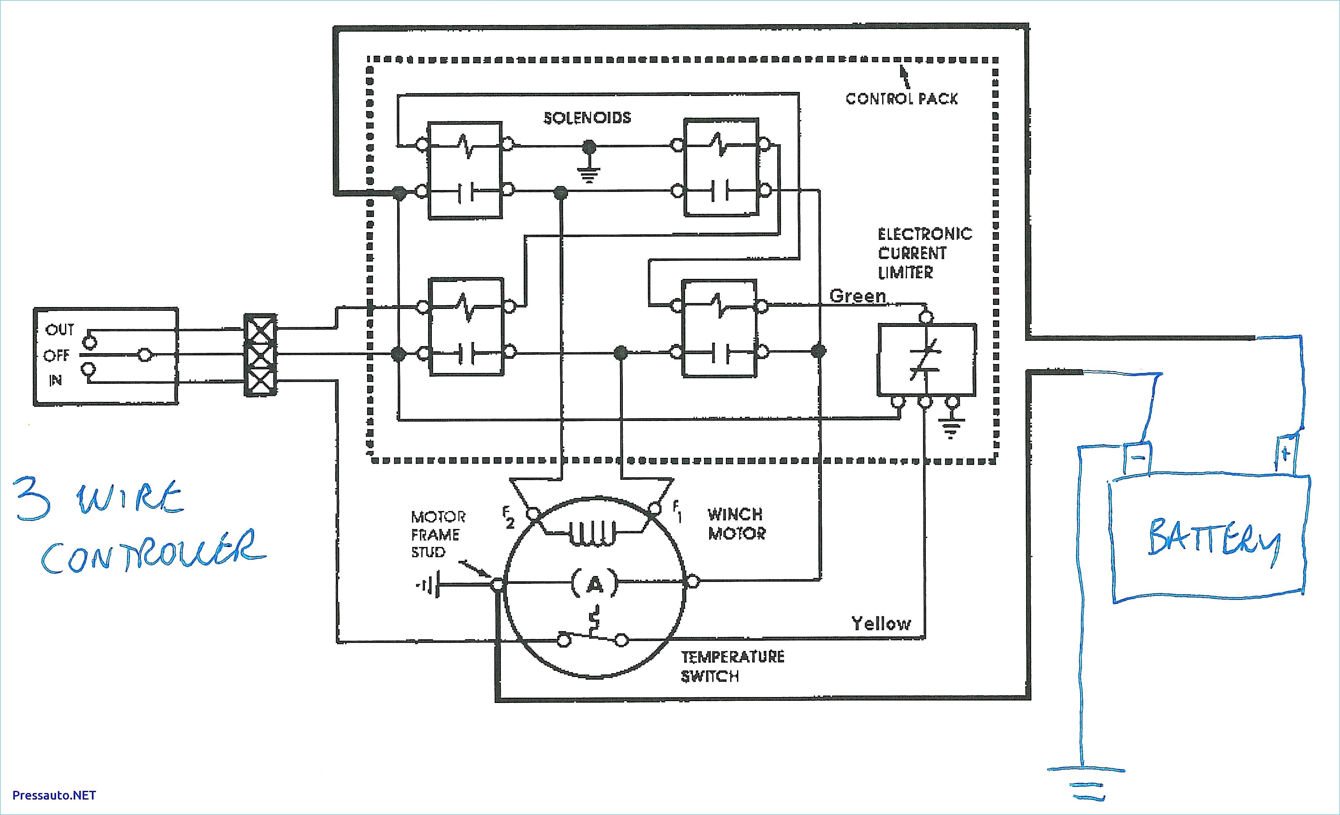 Ramsey Winch Wiring Diagram Free Download Schematic - Wiring Data - Solenoid Wiring Diagram