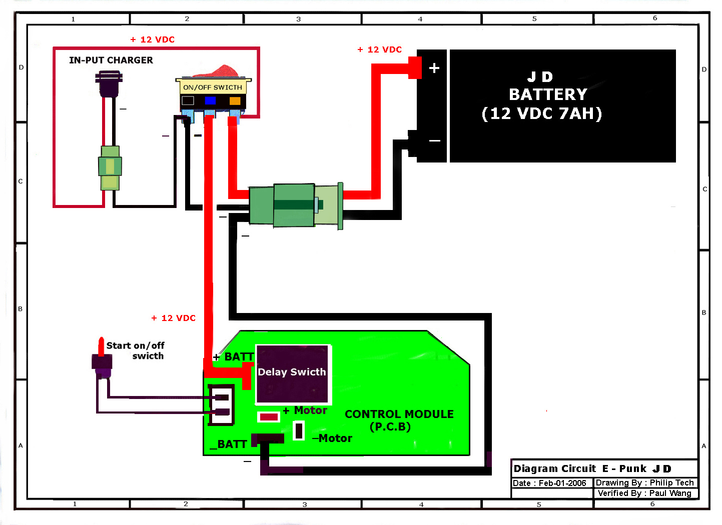 Razor Epunk Electric Mini Bike Parts - Electricscooterparts - Pocket Bike Wiring Diagram