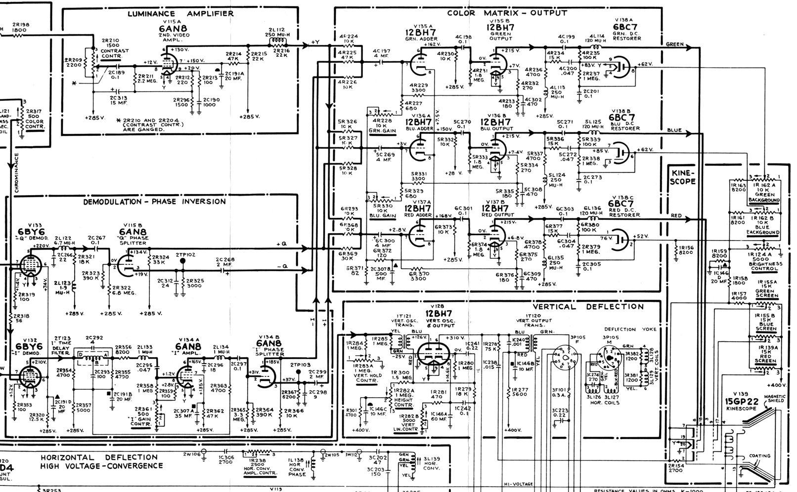 Rca Tv Diagram - Wiring Diagrams Hubs - Directv Swm Wiring Diagram