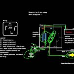 Relay Tutorial: 5 Pin Vs 4 Pin Wiring (Example 1)   Youtube   4 Pin Relay Wiring Diagram