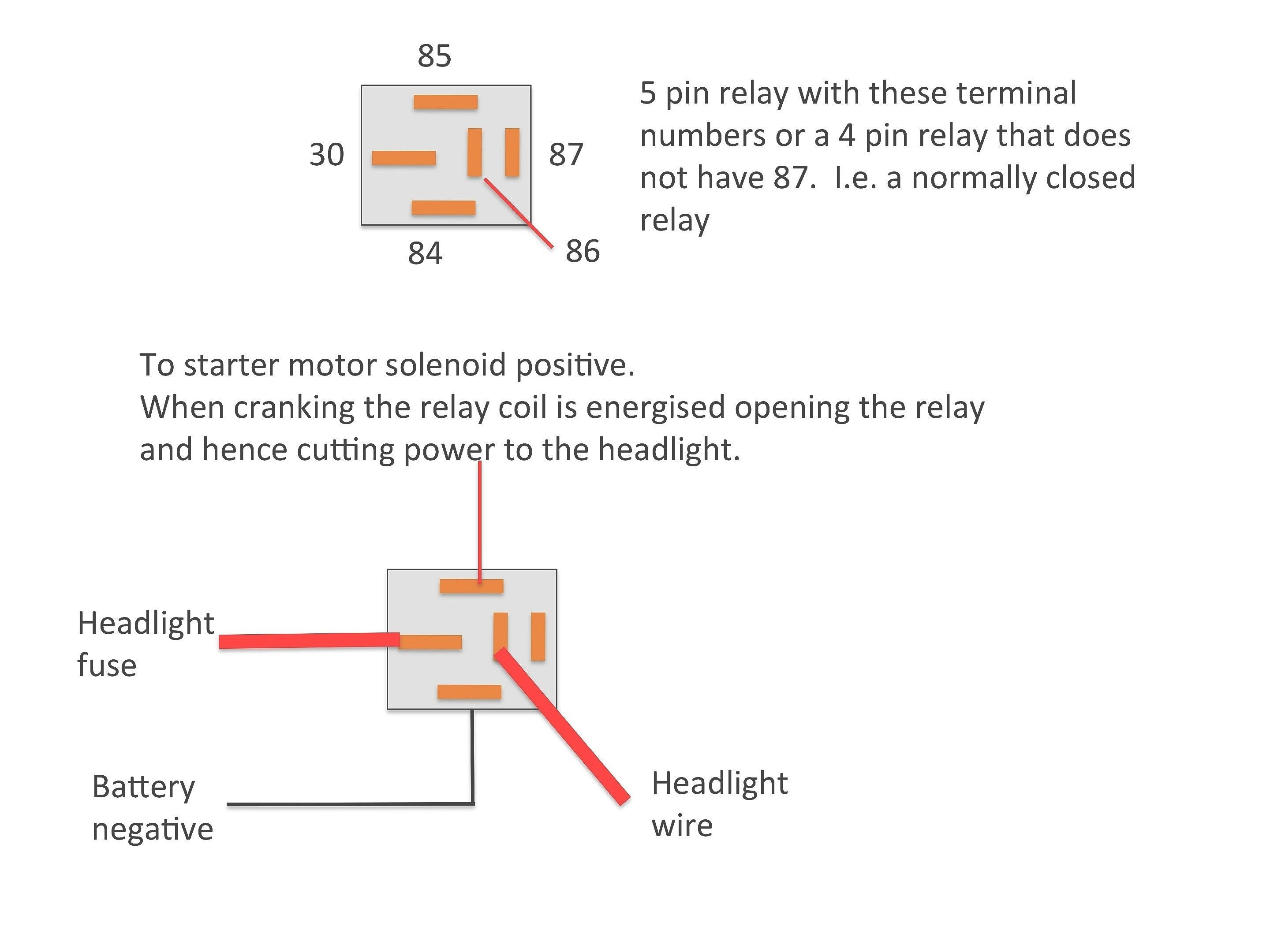 Relay Wiring Diagram 4 Pin - Allove - 4 Pin Relay Wiring Diagram