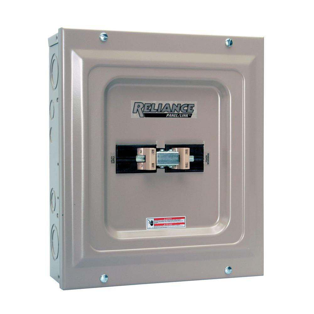 Reliance Controls 60 Amp Utility / Generator Transfer Switch - Reliance Generator Transfer Switch Wiring Diagram