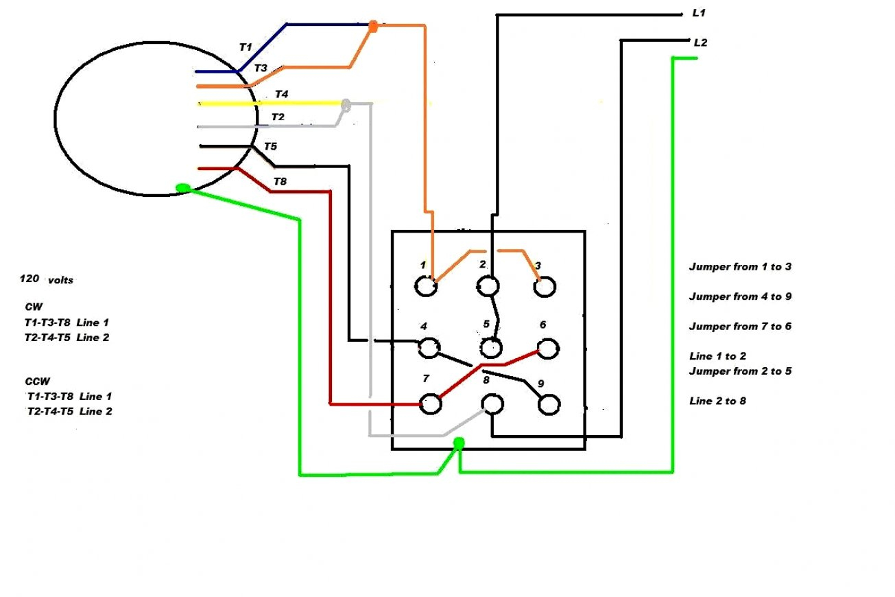 Reliance Motor Wiring Diagram - Wiring Schematics Diagram - Baldor Motors Wiring Diagram