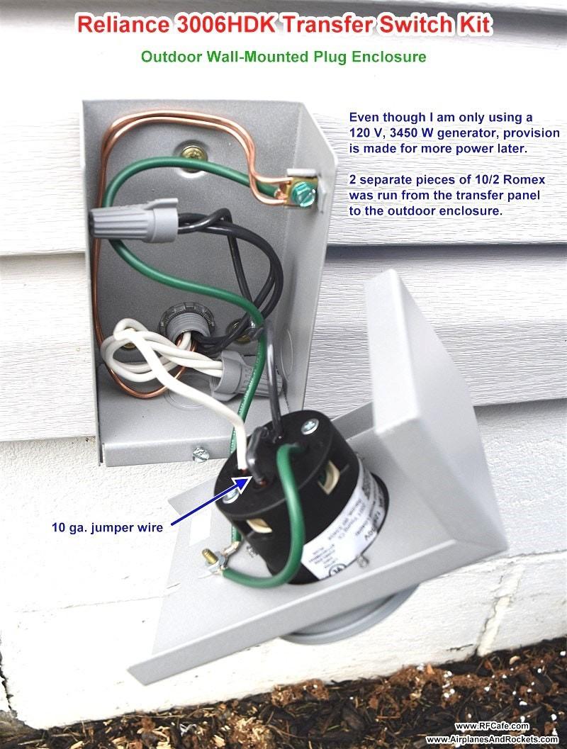 Reliance Transfer Switch Wiring Diagram | Manual E-Books - Reliance Generator Transfer Switch Wiring Diagram