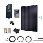 Renogy 1000 Watt 12 Volt Monocrystalline Solar Cabin Kit For Off   Renogy Wiring Diagram