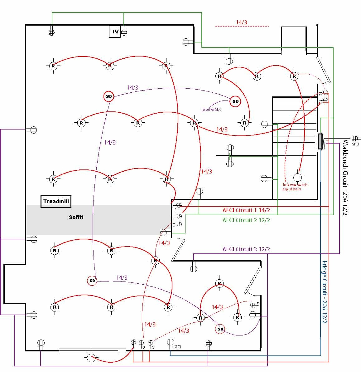 Residential House Wiring - Wiring Diagrams Hubs - House Electrical Wiring Diagram