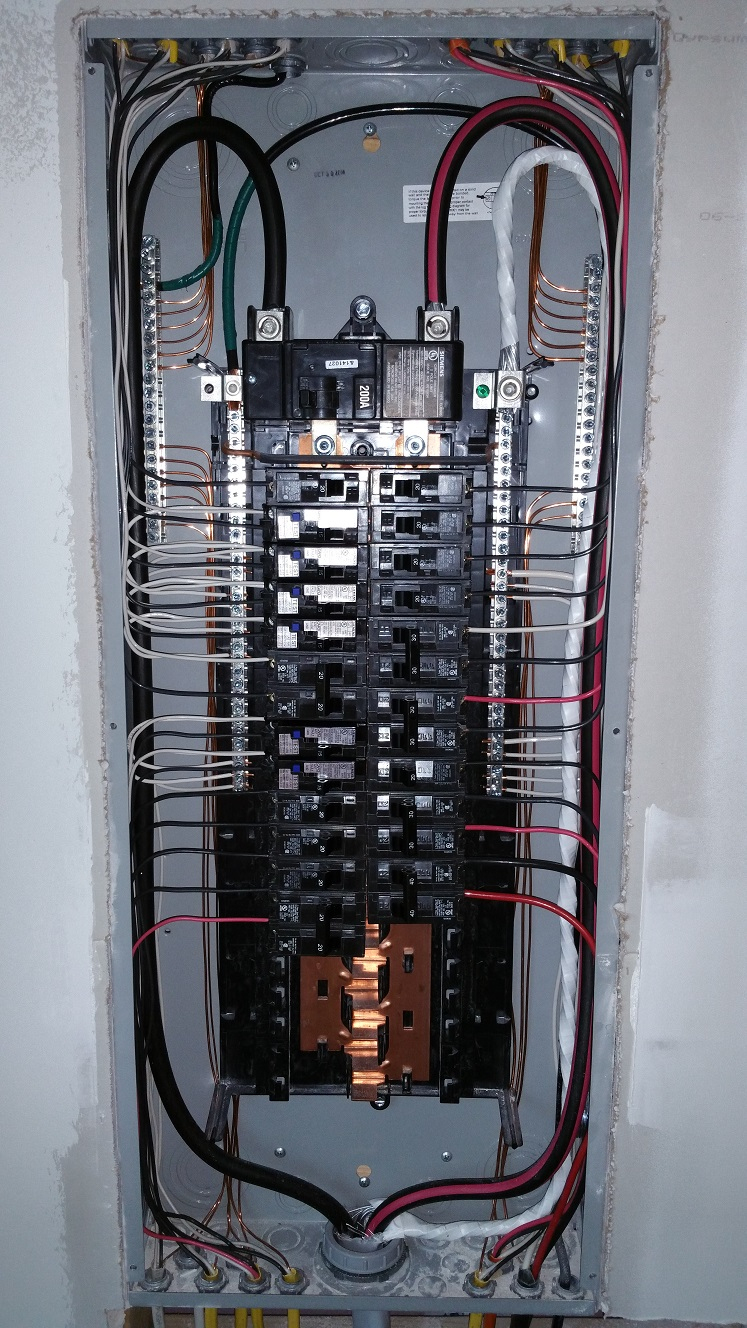 100 Amp Electrical Panel Wiring Diagram