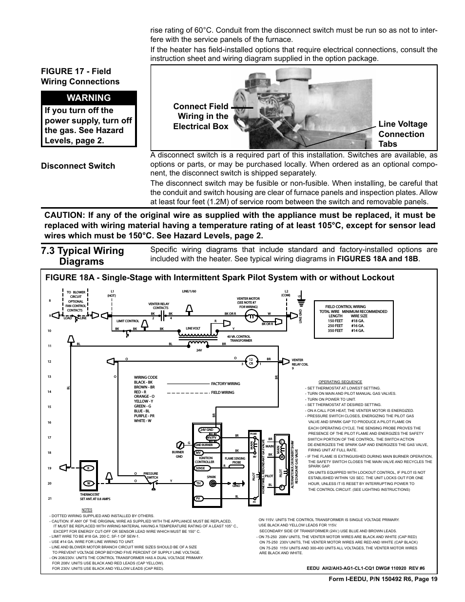 Reznor Heater Wiring Diagram | Manual E-Books - Reznor Heater Wiring Diagram