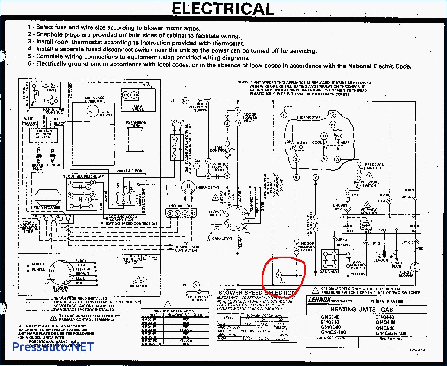 Rheem Heat Pump Wiring Diagram | Manual E-Books - Rheem Heat Pump Wiring Diagram
