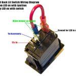 Rocker Switch Help Kawasaki Teryx Forum Exceptional Pin Toggle   4 Pin Rocker Switch Wiring Diagram