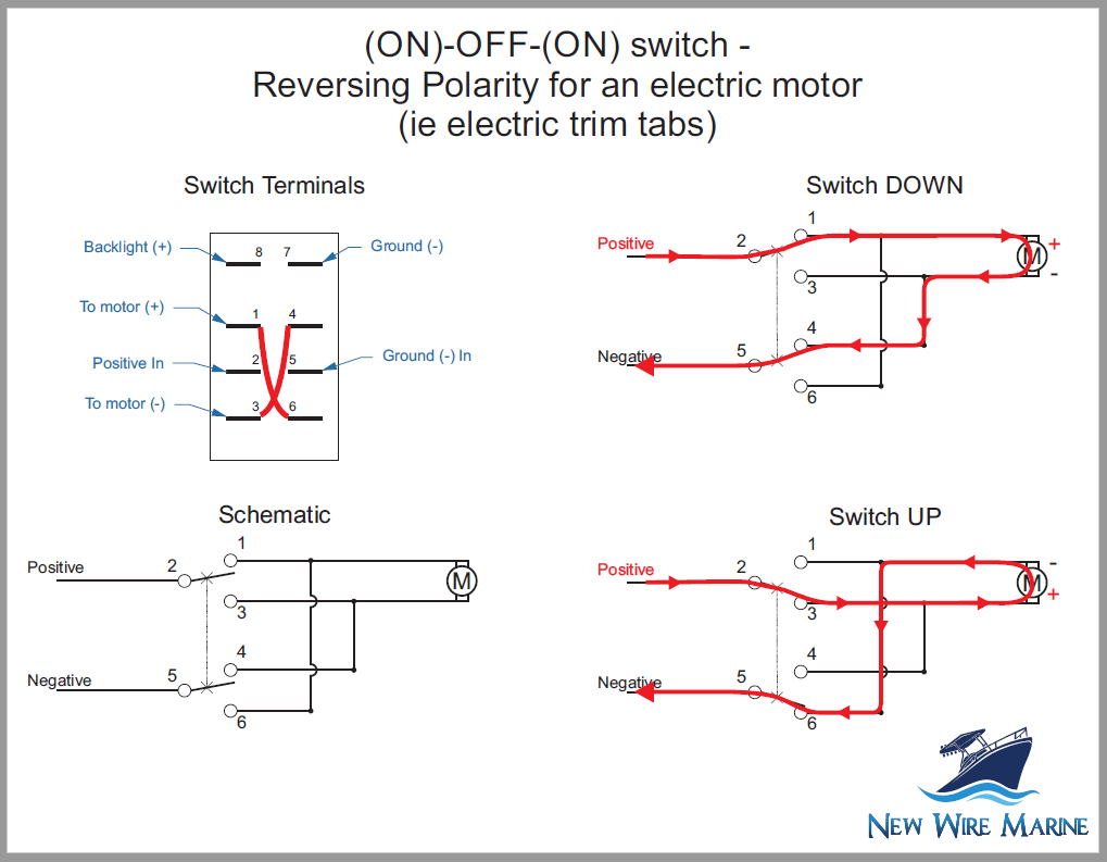 Rocker Switch Schematic - Wiring Diagram Data - Rocker Switch Wiring Diagram