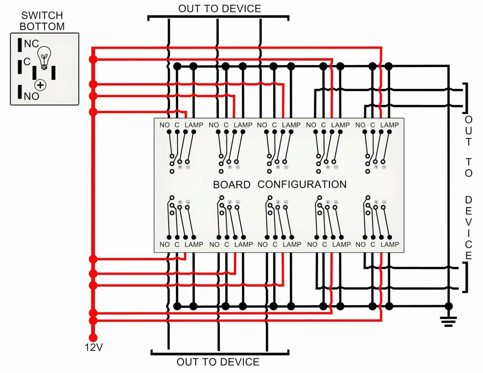 Rocker Switch Wiring Diagram Va | Wiring Diagram - Lighted Rocker Switch Wiring Diagram 120V