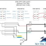Rocker Switch Wiring Diagrams | New Wire Marine   Toggle Switch Wiring Diagram