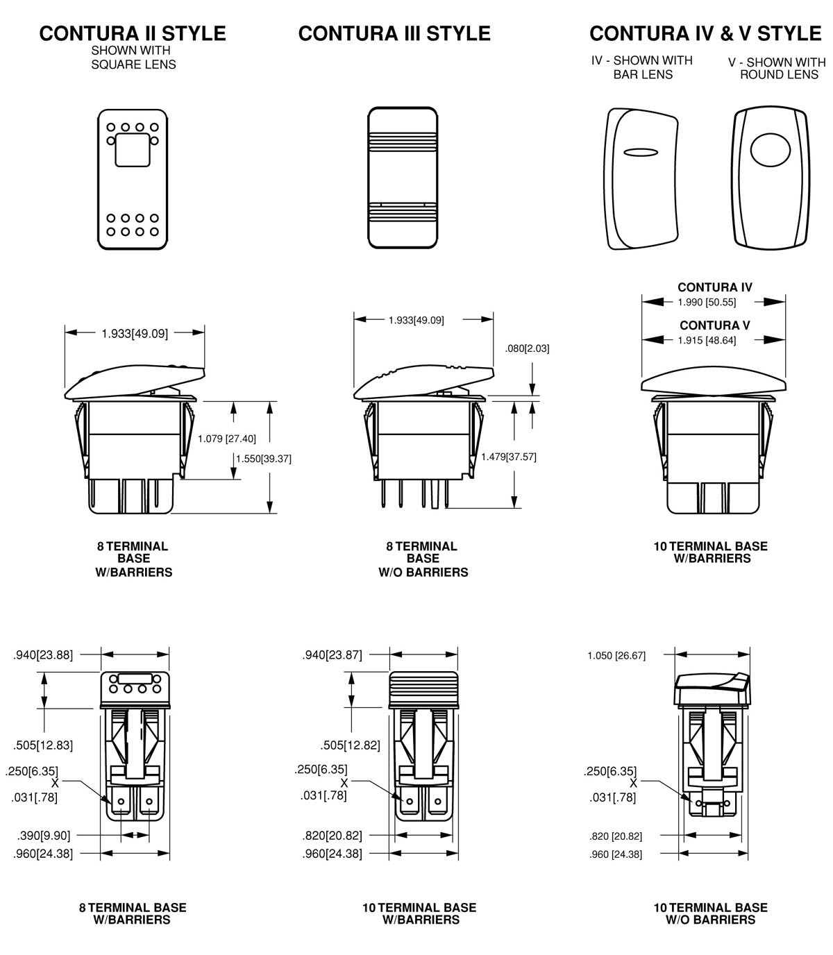Rocker Switches Beauteous Carling Switch Wiring Diagram | Britishpanto - Carling Switches Wiring Diagram