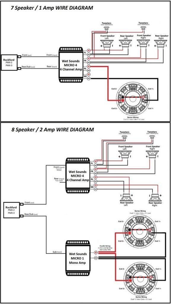 Rockford Fosgate P3001 Wiring Diagram
