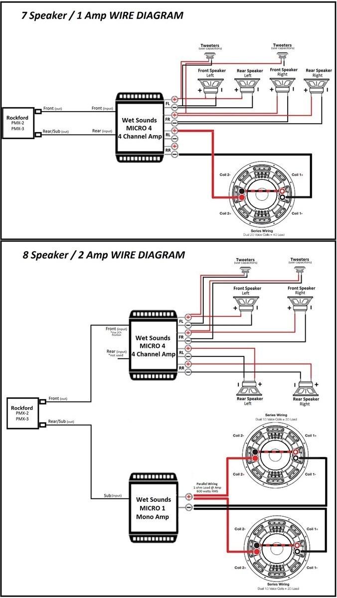 Rockford Fosgate Punch Amp Wiring Diagram   Wiring Diagram - 5 Channel Amp Wiring Diagram