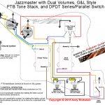 Rothstein Guitars • Jazzmaster Wiring Series/parallel   Series Wiring Diagram
