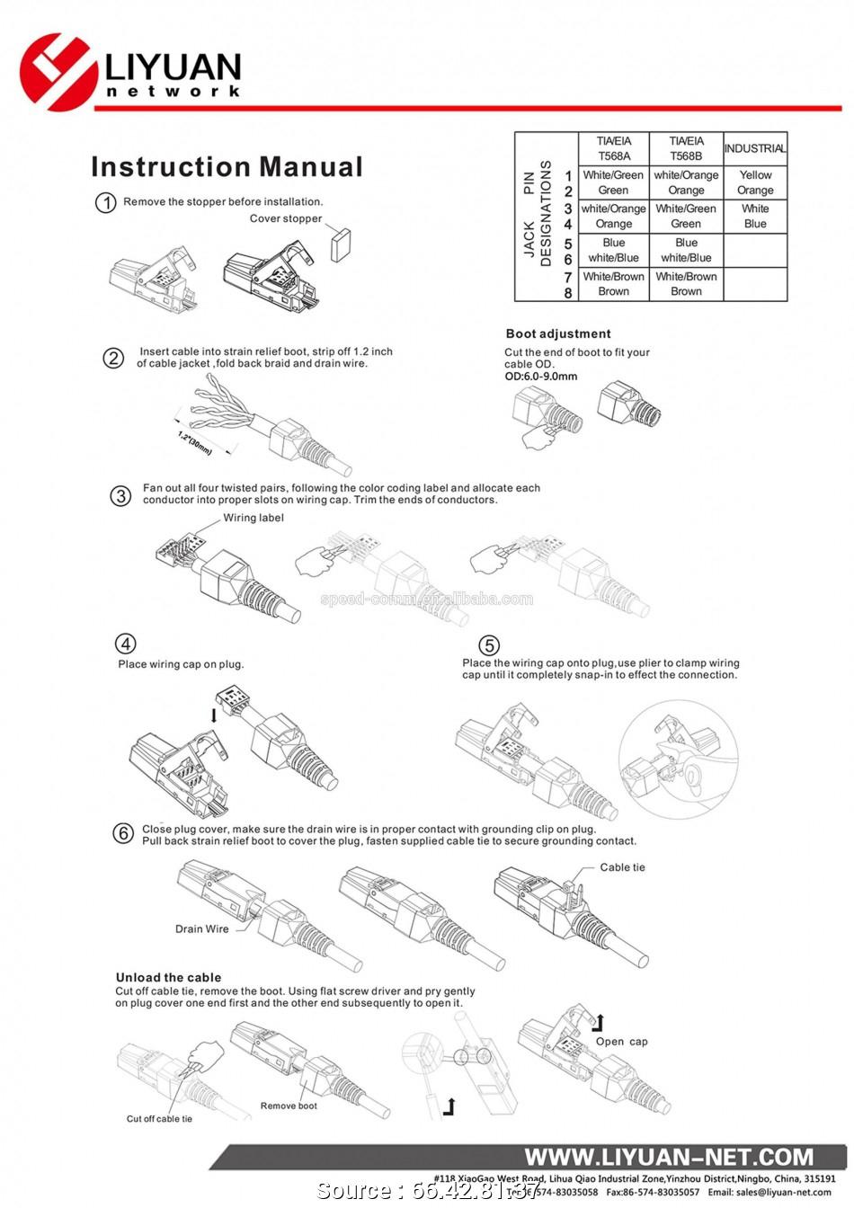 Rs485 Rj45 Wiring Diagram Best Rj14 Jack Wiring Diagram Residential - Rs 485 Wiring Diagram