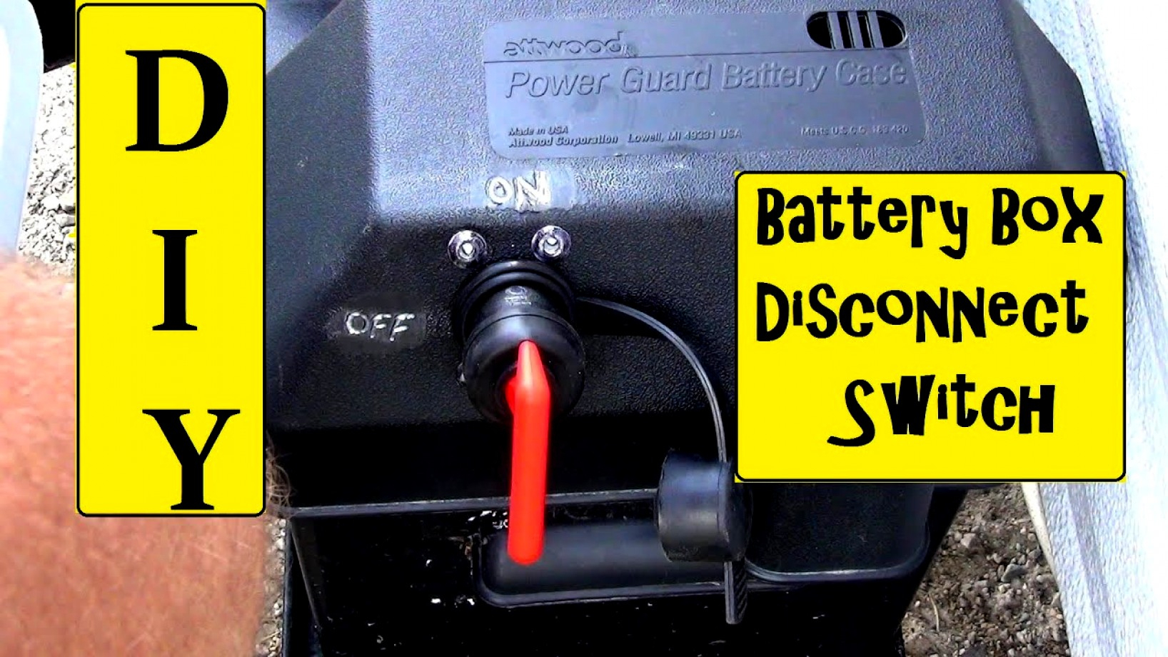 Rv Battery Disconnect Switch Wiring Diagram - Simple Wiring Diagram - Rv Battery Disconnect Switch Wiring Diagram