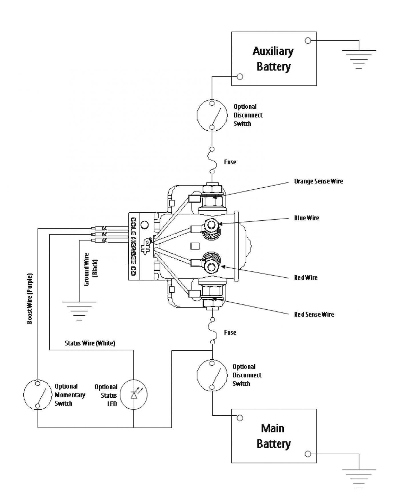 Rv Battery Disconnect Switch Wiring Diagram | Switch Wiring Diagram - 5 Wire Thermostat Wiring Diagram