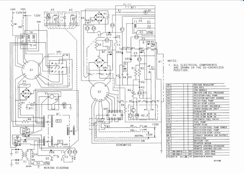 Rv Generator Wiring Diagrams