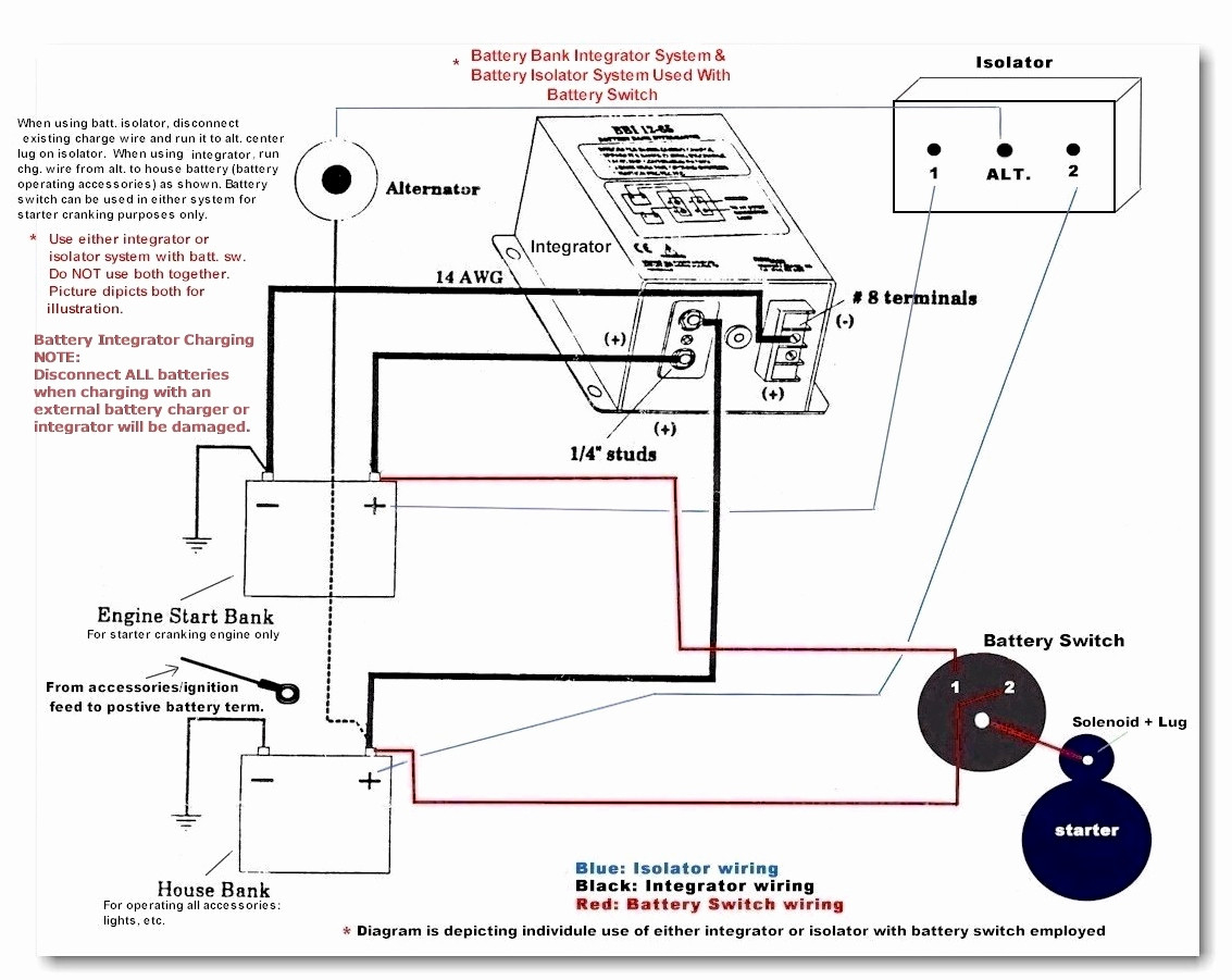 Battery Isolator Wiring Diagram Manual Guide