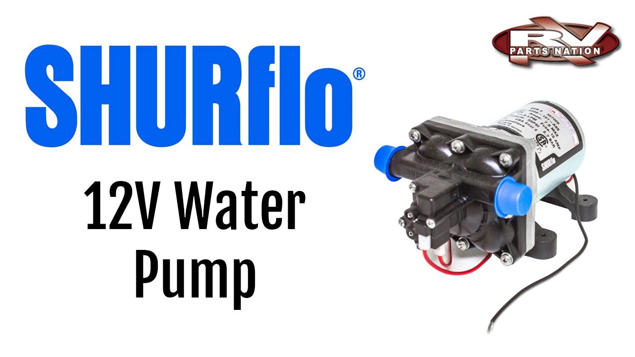 Rv Water Pump Shurflo 12 Volt 4008-101-E65 - Youtube - Shurflo Water Pump Wiring Diagram