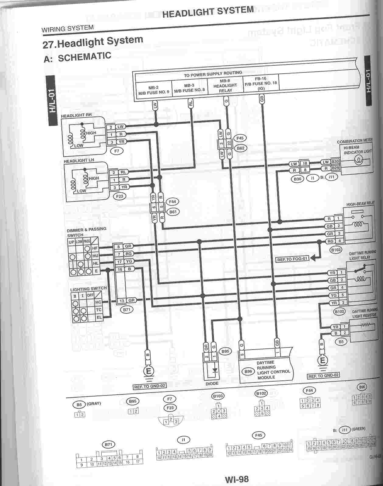 9007 Headlight Wiring Diagram Manual Guide