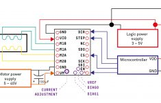 Schematics – How Do I Wire A Tmc2130 Stepper Motor Driver To An – Stepper Motor Wiring Diagram