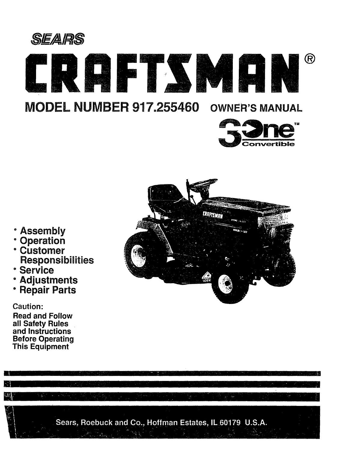 Sears Lt1000 Riding Mower Wiring Diagram | Wiring Library - Craftsman Lawn Mower Model 917 Wiring Diagram