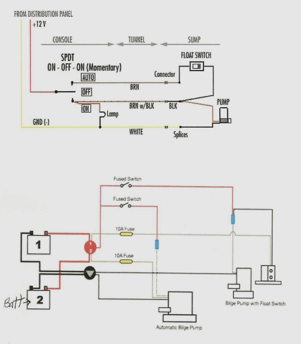 Septic Wire Diagram - Trusted Wiring Diagram Online - Bilge Pump Float Switch Wiring Diagram