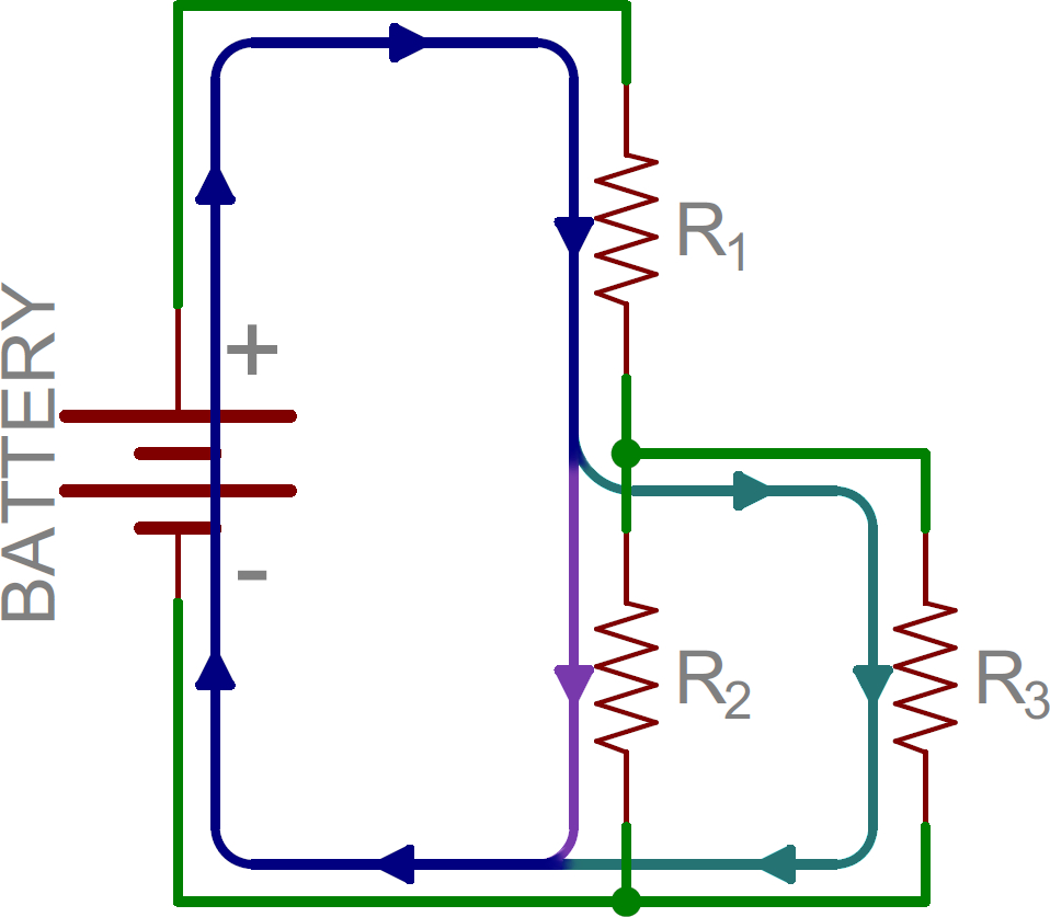 Series And Parallel Circuits - Learn.sparkfun - Speaker Wiring Diagram Series Vs Parallel