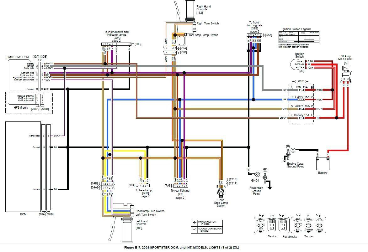 Simplified Harley Wiring Diagram | Wiring Diagram - Harley Davidson Voltage Regulator Wiring Diagram