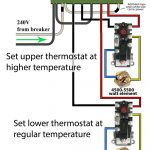 Simultaneous Thermostat Wiring Temp Electric Water Heater Wiring   Water Heater Wiring Diagram