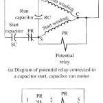 Single Phase Capacitor Start Run Motor Wiring Diagram   Διαγράμματα   Starter Motor Wiring Diagram