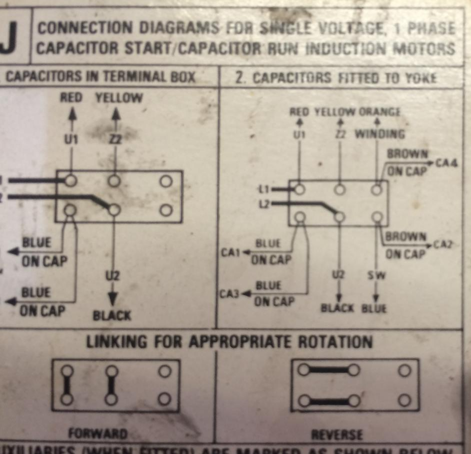Single Phase Motor Blowing Run Capacitor - Motor Run Capacitor Wiring Diagram