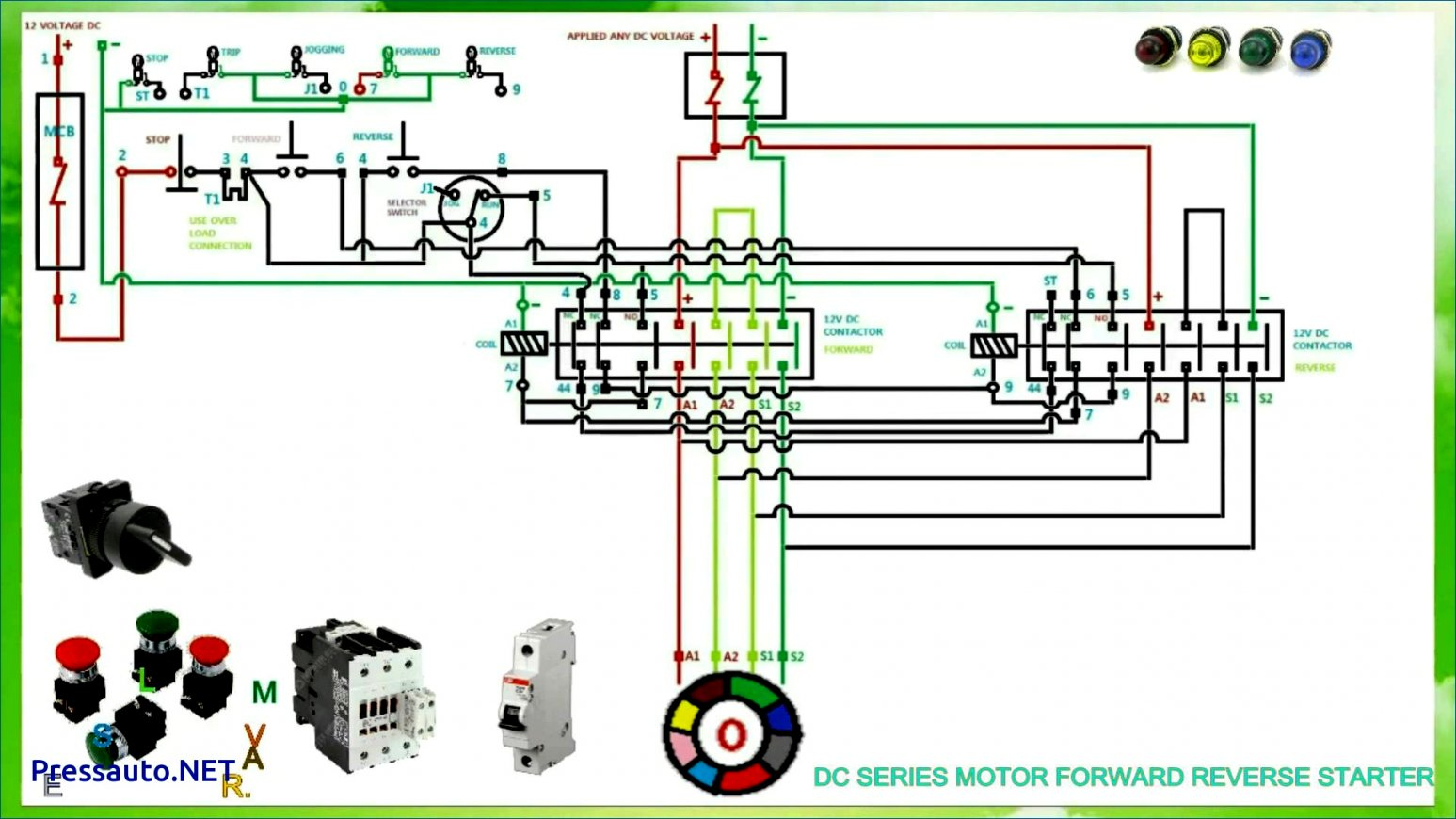 Single Phase Motor Forward Reverse Wiring Diagram | Wiring Diagram - Reversing Single Phase Motor Wiring Diagram