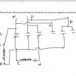 Single Phase Motor Reverse And Forward Connection   Youtube   Reversing Single Phase Motor Wiring Diagram