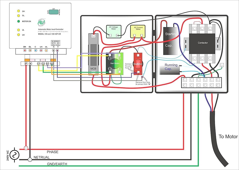 Single Phase Submersible Pump Starter Wiring Diagram Gooddy Org Best - Single Phase Motor Wiring Diagram Forward Reverse